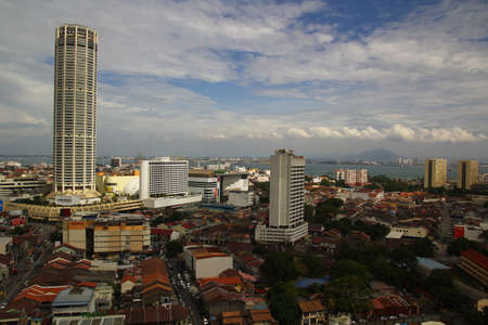 georgetown: Penang Bathed In Early Evening Sunshine
