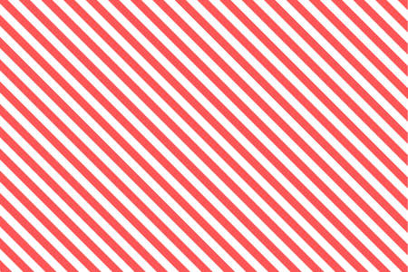 Red and white diagonal stripes paper chart background