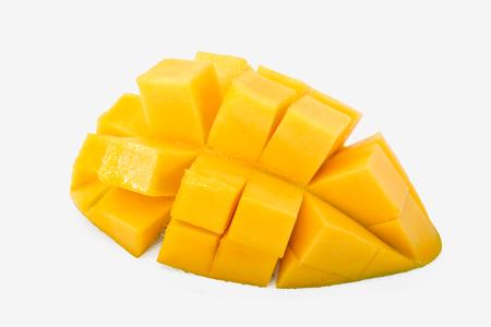 Mango fruit on white backround