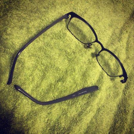 eye: Glasses Stock Photo