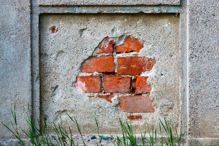 withering: Old withering brick wall