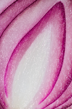Close-up macro of red onion