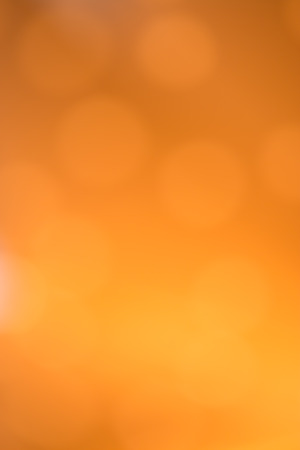 Orange, colorful out of focus bokeh background
