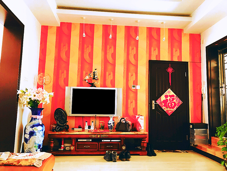 Chinese new year home decoration