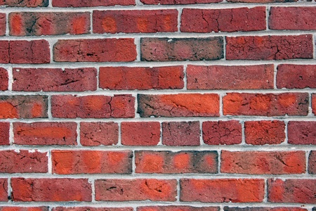 Neat display of red bricks would make a great background... photo