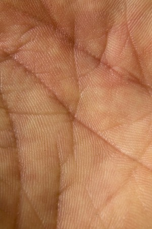 male hand close up showing just his skin