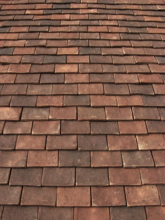 close up detail image of roof tiles Stock Photo - 7343659