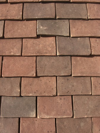 close up detail image of roof tiles Stock Photo - 7343651