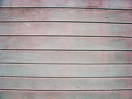 old worn down wooden fence panel photo
