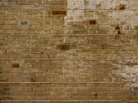plan brick wall for backgrounds Stock Photo - 7655667