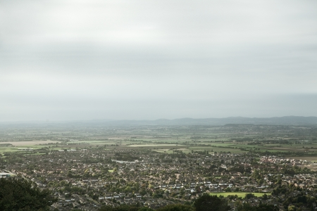 racecourse: View of Cheltenham Racecourse taken from above