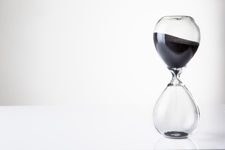 large hour glass sand timer Banque d'images