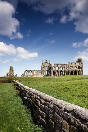 Haunting remains of Whitby in North Yorkshire
