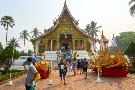LUANG PRABANG, LAOS Prabang Royal Palace Museum in Luang Prabang, Laos.