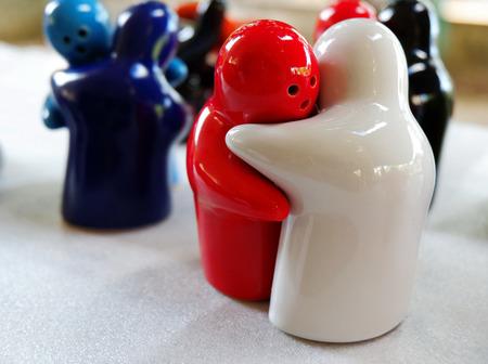 Colorful Hug Dolls
