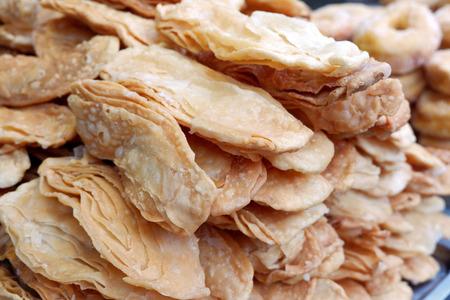 Popular Thai Street Snack - Crispy Roti / Sweet  Flatbread
