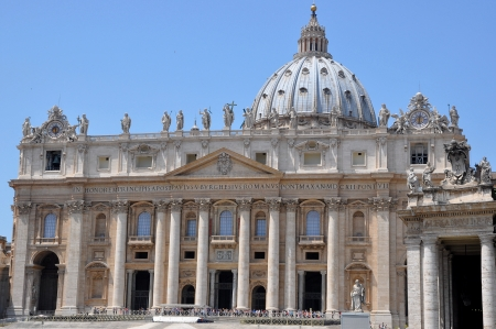 St  Peters Basilica Vatican City Editorial
