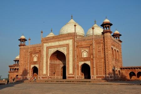 monument in india: Taj Mahal Mosque Monument India Editorial