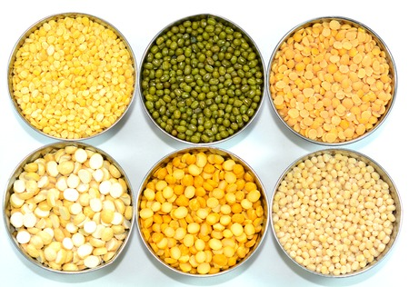 pulses: Pulses and lentils