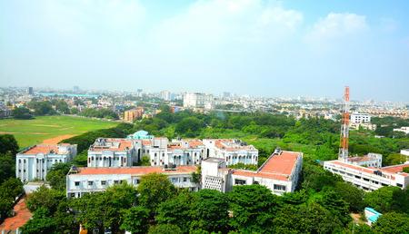 Chennai roads in Marina Beach, Chennai, India