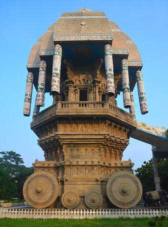 Valluvar Kottam in Chennai City, India