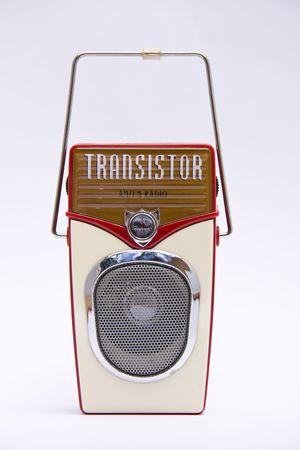 transistor: Retro de transistor radio