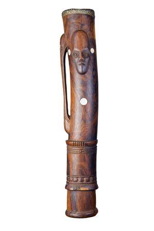 bongos: A beautiful hand made kundu drum from Papua New Guinea.