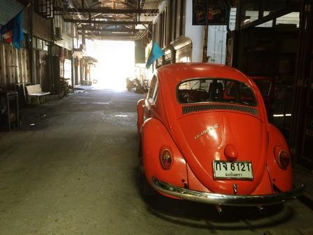 vw: VW Volkswagen Beetle Stock Photo