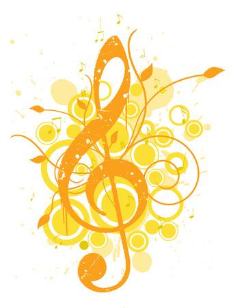 여름 음악 배경