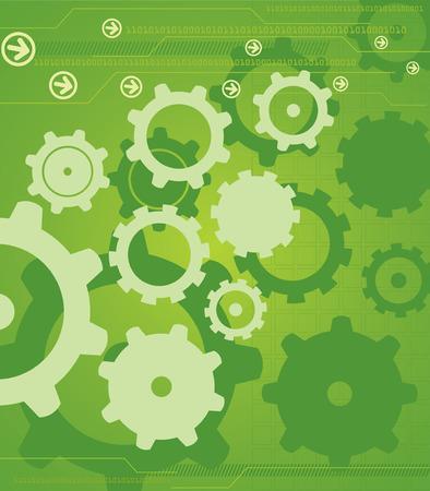 cogs: HighTech industrial Antecedentes