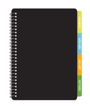 writing pad: Quarterly Planner