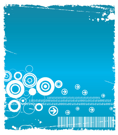 Technology Loop Backgrounfd Stock Vector - 4653786