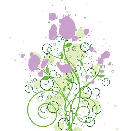 Floral Ink Design
