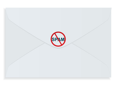 Stop Spam! Stock Vector - 4877942