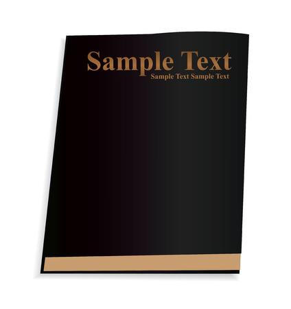 Vector Black Book Stock Vector - 4877945
