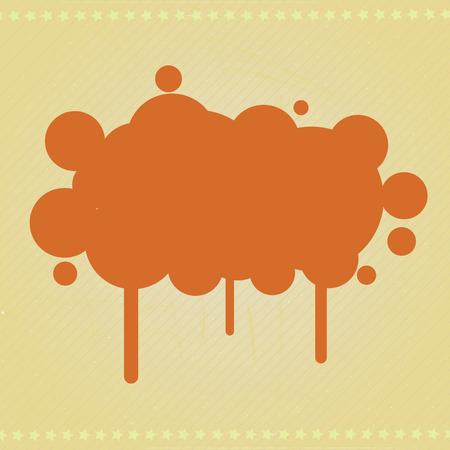 Retro Blot Design Banner