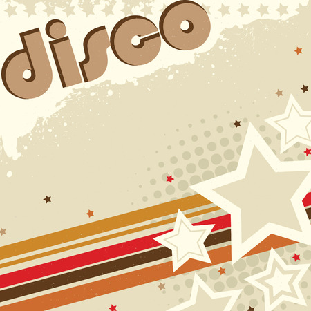 Disco Grunge Design 일러스트