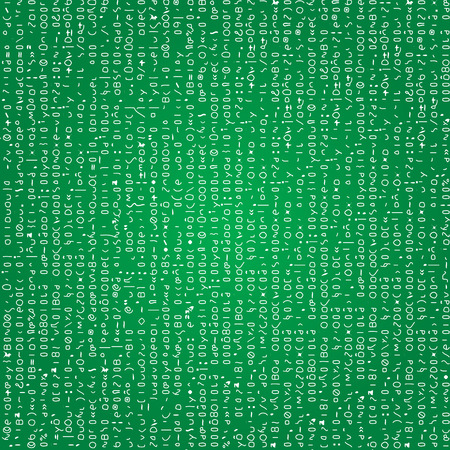 binary matrix: Codes seamless background