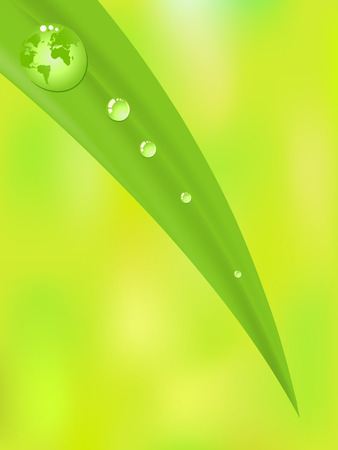 Green Planet 일러스트