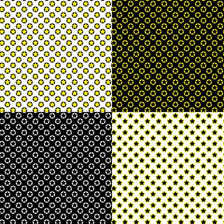 Seamless Star Pattern Illustration
