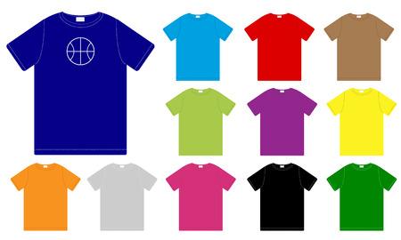Set of Color T-shirts