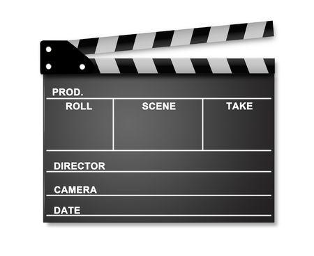 Movie Clapper 스톡 사진