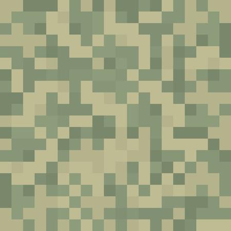 Pixel camouflage texture pattern