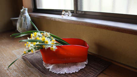 simply: Japanese simply flower arrangement