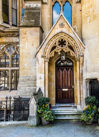 confessor: 4 The Sanctuary, Westminster, London Stock Photo