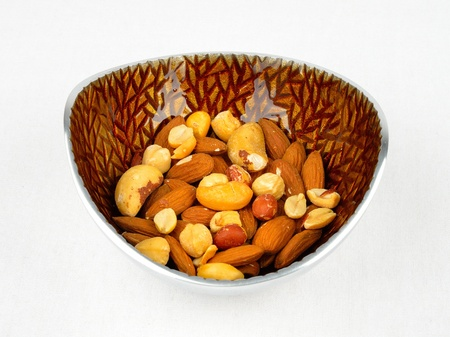 A bowl of mixed assortment of nuts