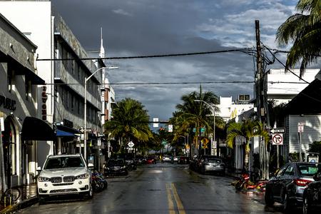 Miami nach dem Regen Standard-Bild - 80586495