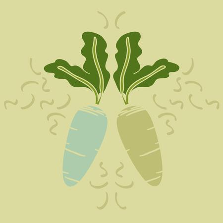 Beets - vector illustration Illustration