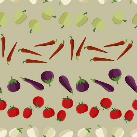 Peppers, eggplants, and tomatoes design