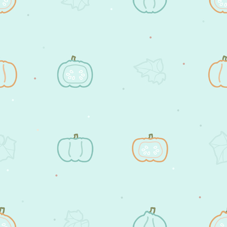Pumpkins pattern